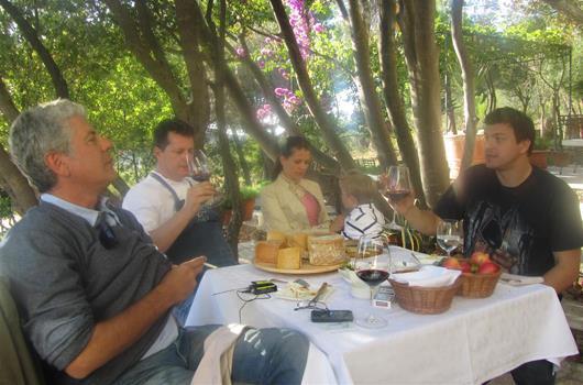 Anthony Bourdain in Kroatien - Weingut & Restaurant Boskinac