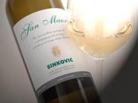 Weingut & Restaurant Sinkovic - San Mauro weiss