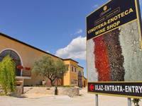 Vina Cattunar - Eingangsbereich Weingut