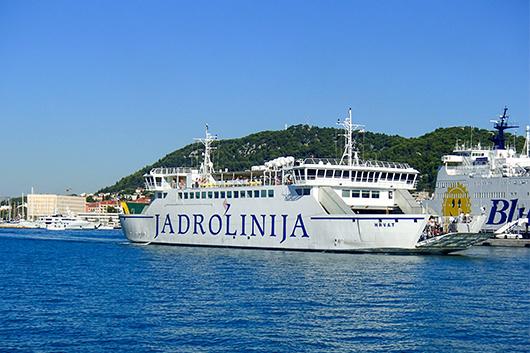 Fähre Kroatien