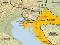 Internationale Fährverbindungen Kroatien