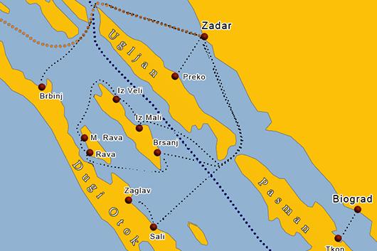 Fähre Insel Iz