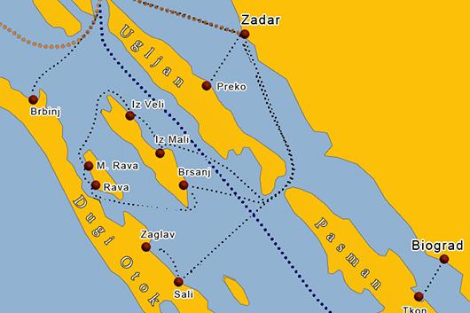 Fähre Insel Rava