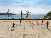 Beachvolleyball in Kroatien