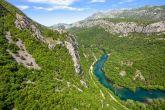 Fluss Cetina - Landschaft