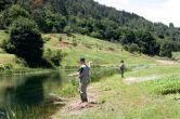 Tolle Landschaft zum Fliegenfischen - Fluss Gacka