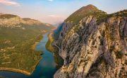 Fluss Cetina in Kroatien