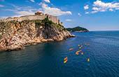 Kajaktour Gruppe, Dubrovnik