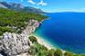 Küste Makarksa, Kroatien
