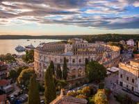 Istrien-Tour - Arena Pula