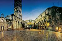Die Metropole Split in Mitteldalmatien