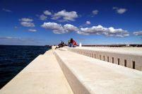 Die Meeresorgel in Zadar - Norddalmatien