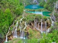 Natur Kroatien, Nationalpark Plitvicer Seen