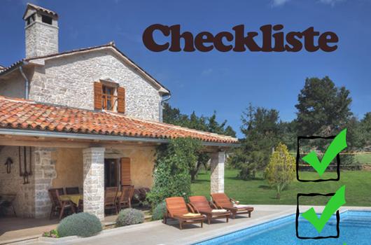 Immobilien Checkliste Kroatien