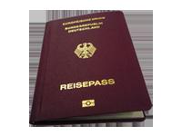 Reisedokument - Reisepass