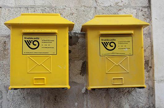 Post in Kroatien