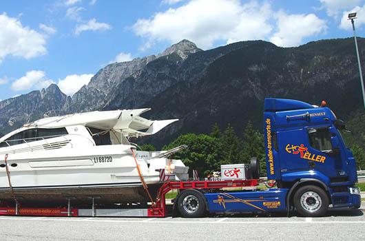 Bootstransporte Kroatien