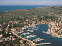 Marina Jezera, Insel Murter, Dalmatien, Kroatien