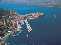 ACI Marina Korcula, Insel Korcula, Dalmatien, Kroatien