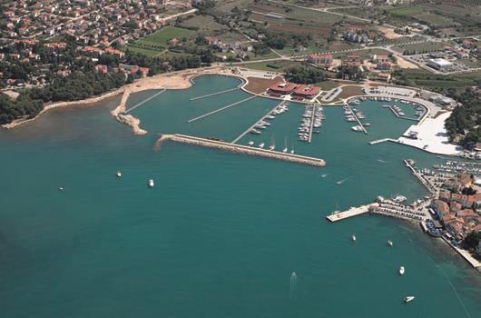 Marina Nautica - Novigrad, Istrien, Kroatien