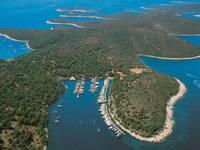 Marina Palmizana, Insel Hvar, Dalmatien, Kroatien