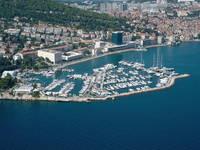 Marina Split, Dalmatien, Kroatien