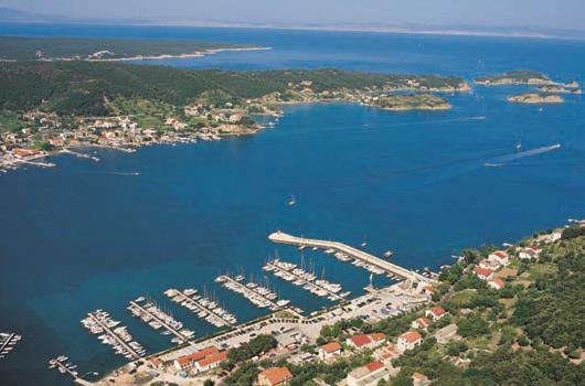 Marina Supetarska Draga - Insel Rab, Kvarner Bucht, Kroatien