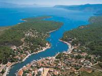 Marina Vrboska, Insel Hvar, Dalmatien, Kroatien