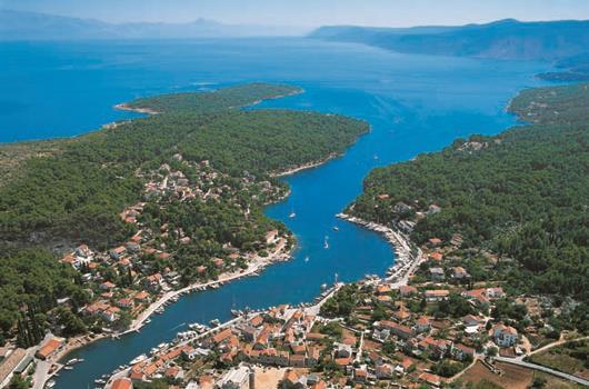ACI Marina Vrboska - Insel Hvar, Dalmatien, Kroatien