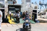 Fähre Motorrad Kroatien