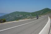 Motorradstrecke Kroatien