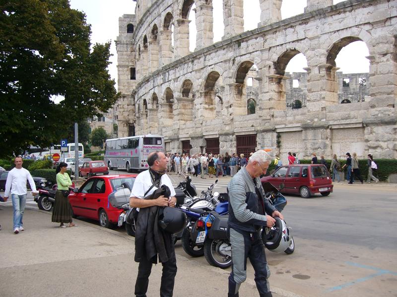 Istrien Motorradtour
