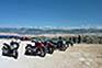 Rast mit Aussicht, Motorradtour Kroatien