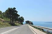 Küstenstraße, Kroatien