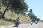 Motorradtour, Kroatien
