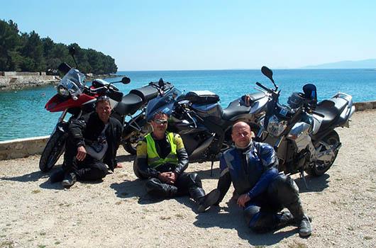 Kroatien Motorradtouren