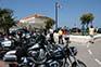 Motorräder in Primosten, Kroatien