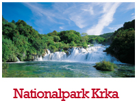 Der Nationalpark Krka