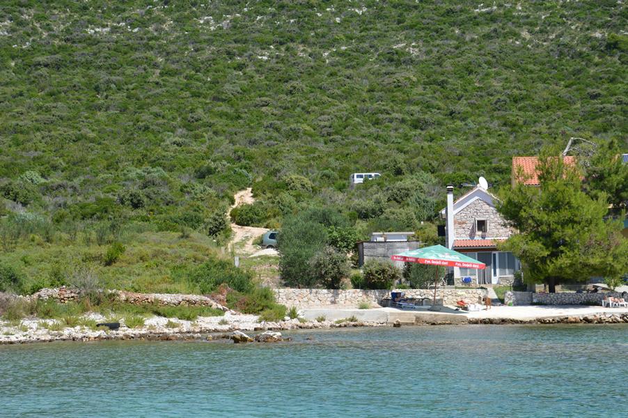 ferienhaus kroatien direkt am meer alleinlage