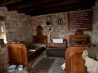 Opas Haus im Ethnodorf Dalmati