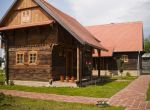Traditionelle Eichenhäuser Selo Strug