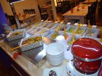 Nishta Restaurant Zagreb/Dubrovnik - Salatbuffet