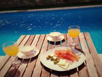 Agrotourismus Kalpic - Frühstück