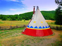 Linden Tree Retreat & Ranch - Tipi
