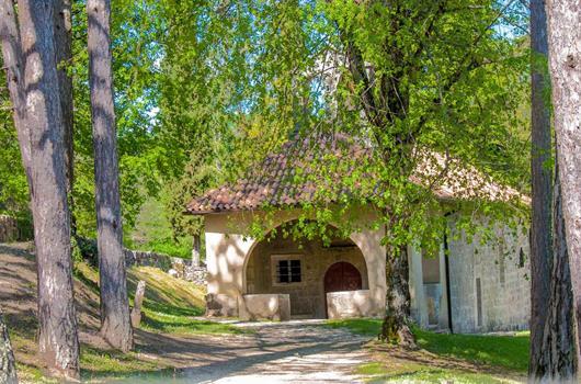 Kirche Marija na Skrilinah bei Beram