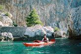 Hvar Adventure - Kajak - Steilhänge und Buchten