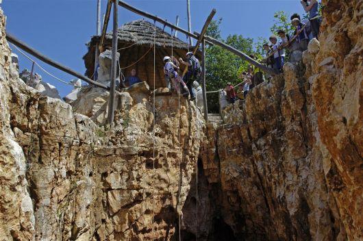 Speleolit - Höhlenklettern - Grotte Baredine, Istrien, Kroatien