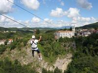 Gracisce - Ausflug Zipline Pazin