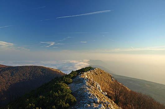 Bergsteigen in Kroatien