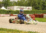Kartfahrer im Motodrom Porec